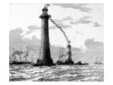 Official Opening of the Eddystone Lighthouse, May 1882 Giclee Print