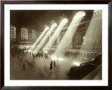 Grand Central Station, New York City, c.1940's Framed Giclee Print
