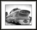 New York, Central Railroad Bullet Train Framed Giclee Print