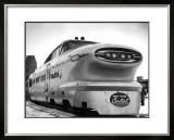 New York, Central Railroad Bullet Train Framed Giclee Print