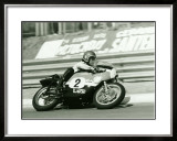 Aermacchi Motorcycle Framed Giclee Print by Giovanni Perrone