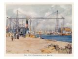 Nantes: the Port Giclee Print