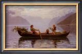 Hardanger Fjord Poster by Johan Christian Clausen Dahl