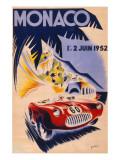Monaco 1952 Poster Giclee Print