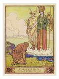 Perseus, Athene, Hermes Giclee Print