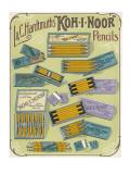 Kph-I-Noor Pencils Giclee Print