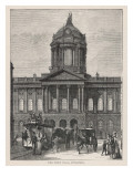 Liverpool Town Hall, the Exterior of the Building Dating from 1749 Giclee Print by Philip Talmage