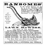 Ransome&#39;s Lawn Mowers Giclee Print