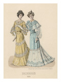 Lacy Dresses 1903 Giclee Print by Philip Talmage