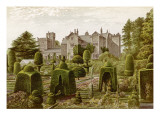 Levens Hall, Cumbria, an Elizabethan Mansion Famous for its Topiary Garden Giclee Print