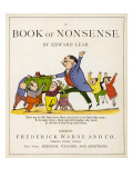 The Book of Nonsense Giclee Print