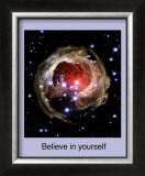 Believe in Yourself Framed Giclee Print