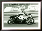 Aermacchi GP Motorcycle Framed Giclee Print
