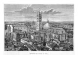 Panorama Del Duomo Di Siena Giclee Print