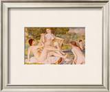 Bathers Poster by Pierre-Auguste Renoir
