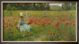 In Flanderns Field Prints by Robert William Vonnoh