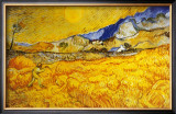 The Harvester Posters by Vincent van Gogh