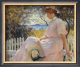Eleanor 1907 Art by Frank Weston Benson