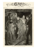 Princess Beatrice Down a Coal Mine Giclee Print