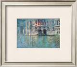 II Palazzo da Mula a Venezia Print by Claude Monet