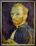Self-Portrait Art by Vincent van Gogh