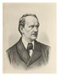 Matthias Jakob Schleiden German Anatomist known for His Work on Cells, Giclee Print
