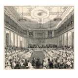 Mendelssohn Conducts His Own Music at the Leipzig Gewandhaus Giclee Print