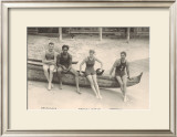 Duke Kahanamoku on Outrigger Canoe Art