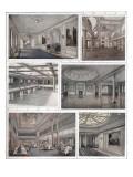 Rooms of the 'Aquitania' Giclee Print