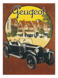 Peugeot Advertising Poster Giclee Print