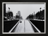 Driving by Clignancourt, Wide Print by Manabu Nishimori