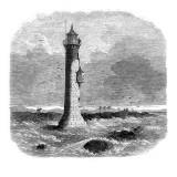 Lytham Lighthouse, Lancashire, 1863 Giclee Print