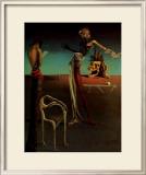 薔薇の頭の女 ポスター : サルバドール・ダリ