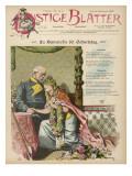 Otto Eduard Leopold Bismarck an 80th Birthday Tribute Giclee Print
