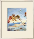 柘榴のまわりを一匹の蜜蜂が飛んで生じた夢, 1944 高画質プリント : サルバドール・ダリ