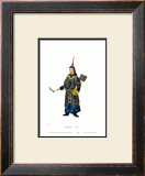 Chinese Mandarin Figure Print