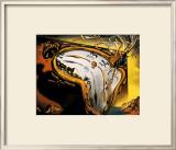 柔らかい時計 高品質プリント : サルバドール・ダリ
