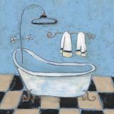 Scrub A Dub I Posters by Carol Robinson