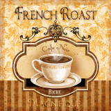 French Roast Posters by Conrad Knutsen