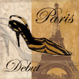 Paris Debut Poster by Carol Robinson