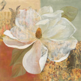 Magnolia Morning II Print by Carol Robinson