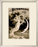 Herman the Great Magician Framed Giclee Print