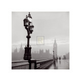 Westminster Bridge and Houses of Parliament, c.1962 Prints by Henry Grant