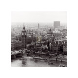 City of Westminster from the South Bank of The Thames, c.1963 Poster von Henry Grant