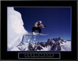 Persistence: Snowboarder Art