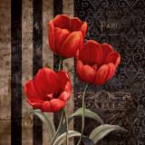Paris Fleurs I Prints by Conrad Knutsen