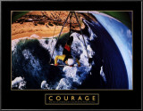 Courage: Hang Glider Posters
