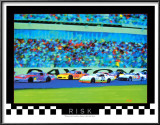 Risk: Auto Racing Prints