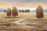 Linen Landscape I Print by  Nan