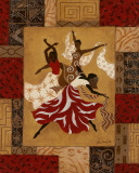 Rejoice II Affiche par Jane Carroll